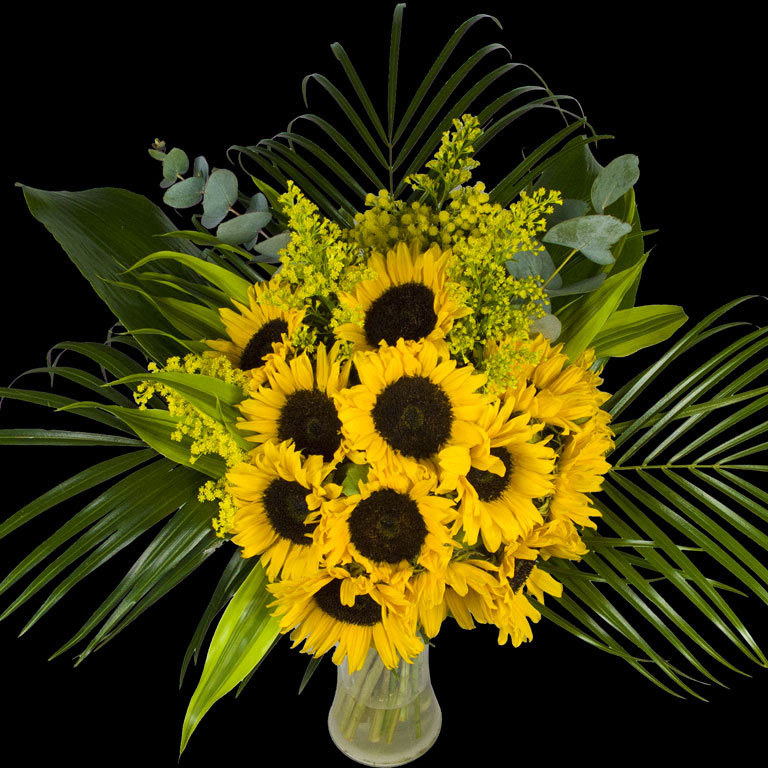 Example of a Extra Luxury Bouquet of Sunflowers