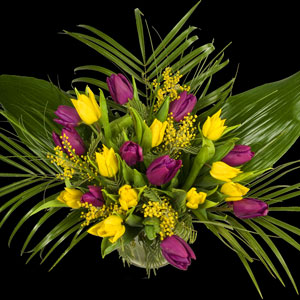 Example of a Extra Luxury Bouquet of Tulips