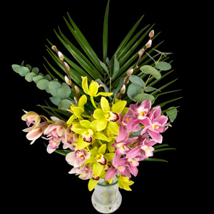 Example of a Luxury Bouquet of Cymbidiam Orchids