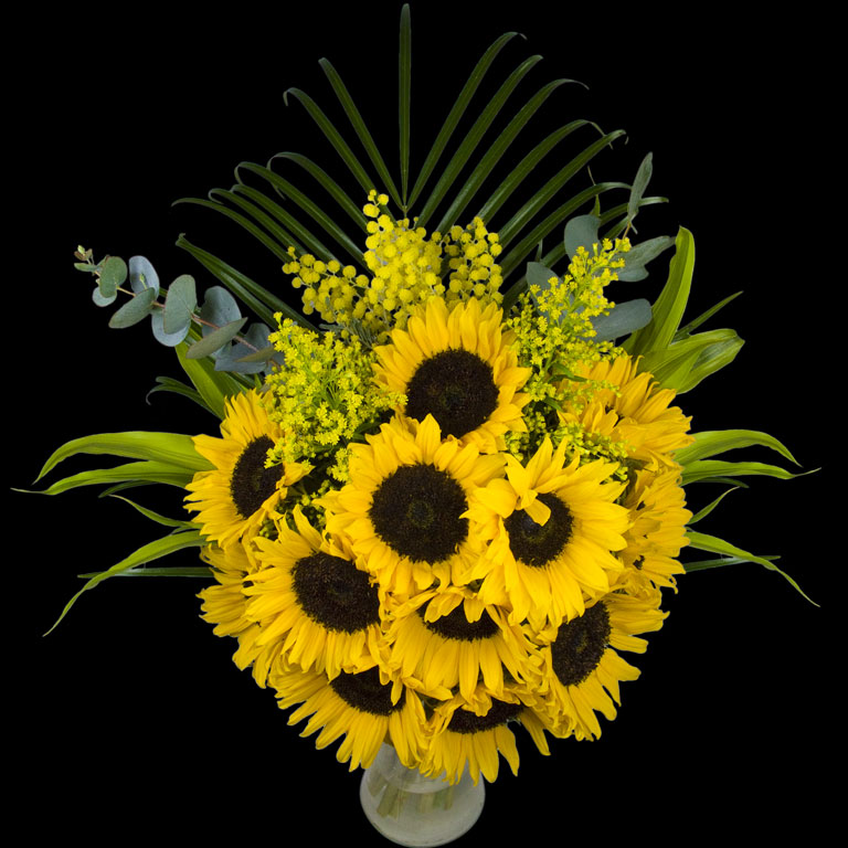 Luxury Bouquet of Sunflowers