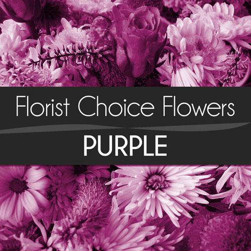 Purple Florist Choice Bouquet