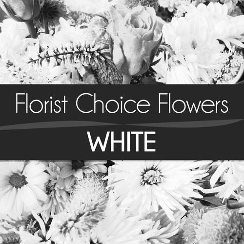 White Florist Choice Bouquet