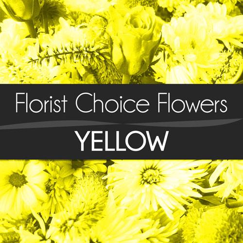 Yellow Florist Choice Bouquet