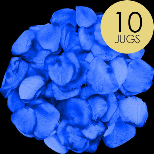 10 Jugs of BLUE Rose Petals
