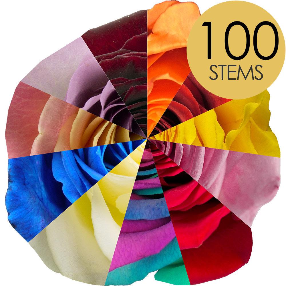 Image of 100 Classic Bespoke Roses