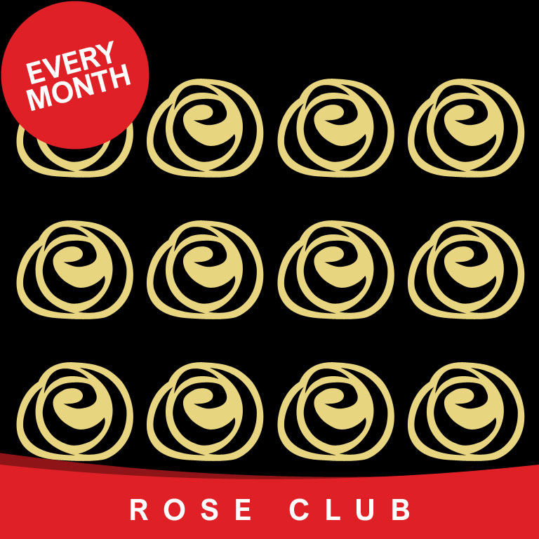 Single Rose Club every month