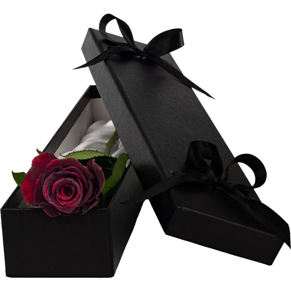 Flowers Luxury Black Baccara Rose
